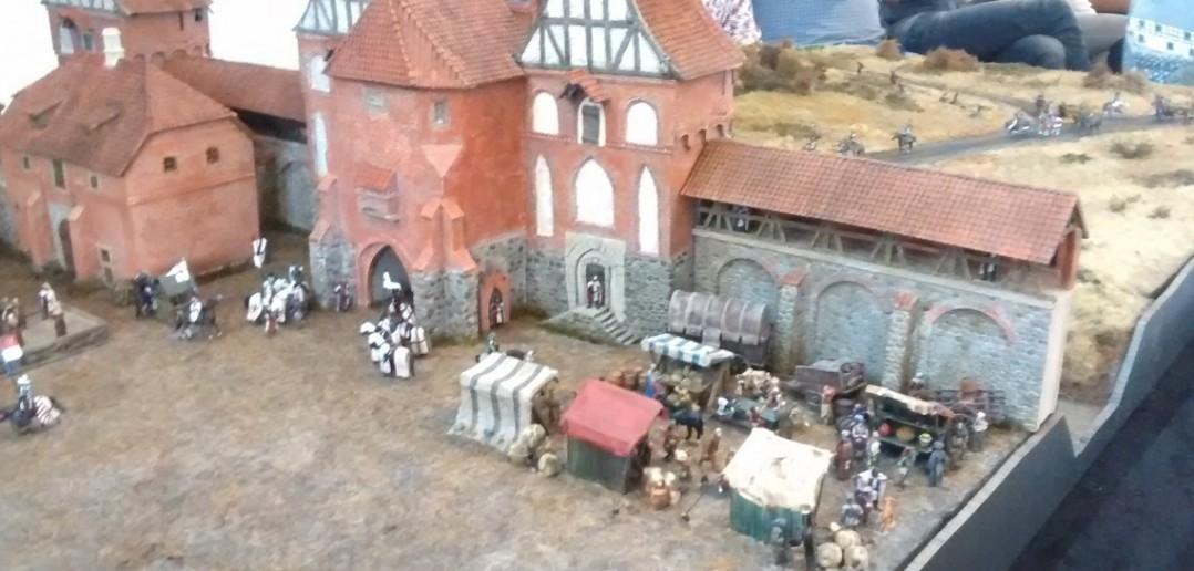 """Diorama """"Stadt des deutschen Orden"""" von Geschichte in Miniaturen e.V."""