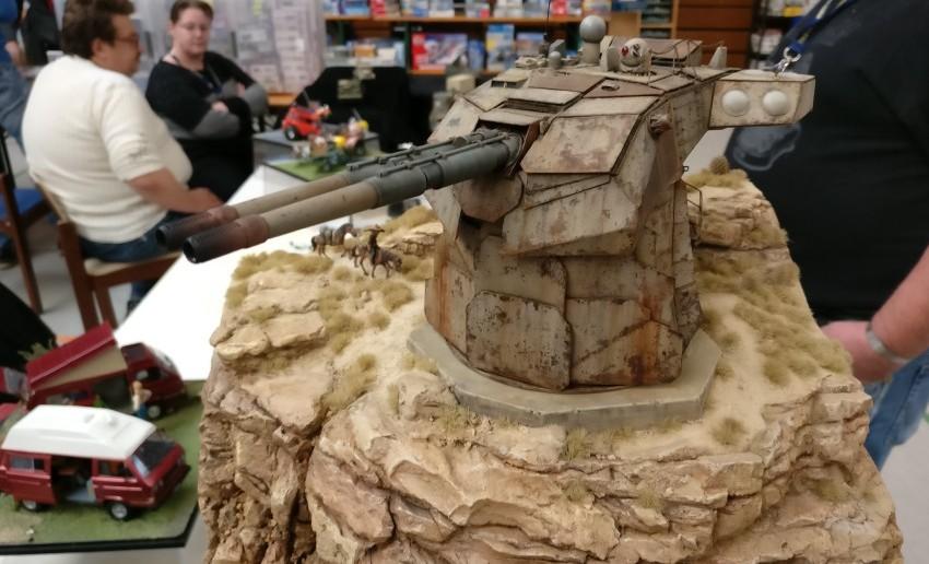 Hier der Geschützturm der Batterie Ikizaz-29.