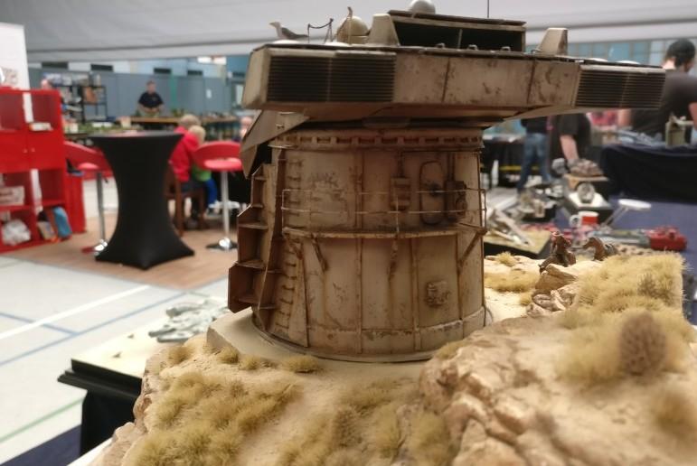 """Für das Design des Geschützturms und für die ganze Idee nebst der Story vergibt der Sturmi das Prädikat """"Endgeil!""""."""