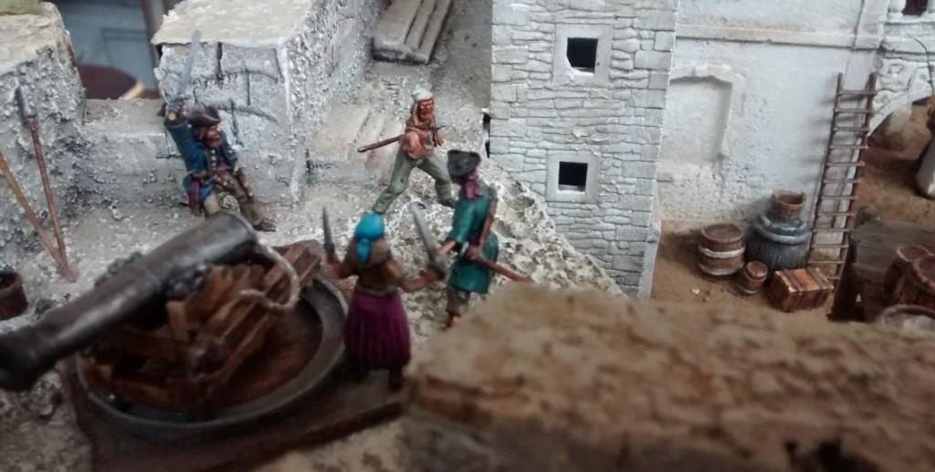 "Diorama ""Fléau des Espagnols"" der Kurpfälzer Figurenfreunde"