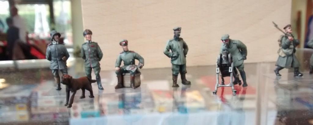 Soldaten des 1. Weltkriegs in der Größe 20mm der Kurpfälzer Figurenfreunde