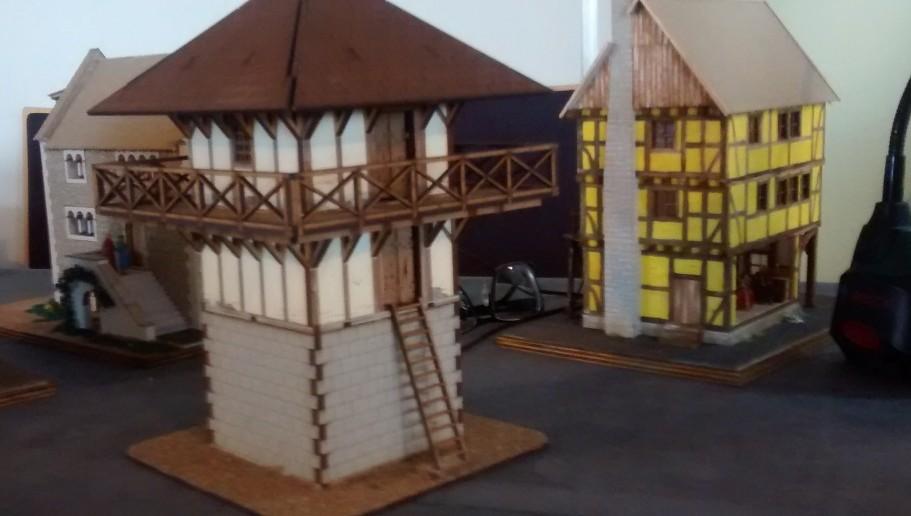 Römischer Wachtturm vom Model Hobby Club Du Sud