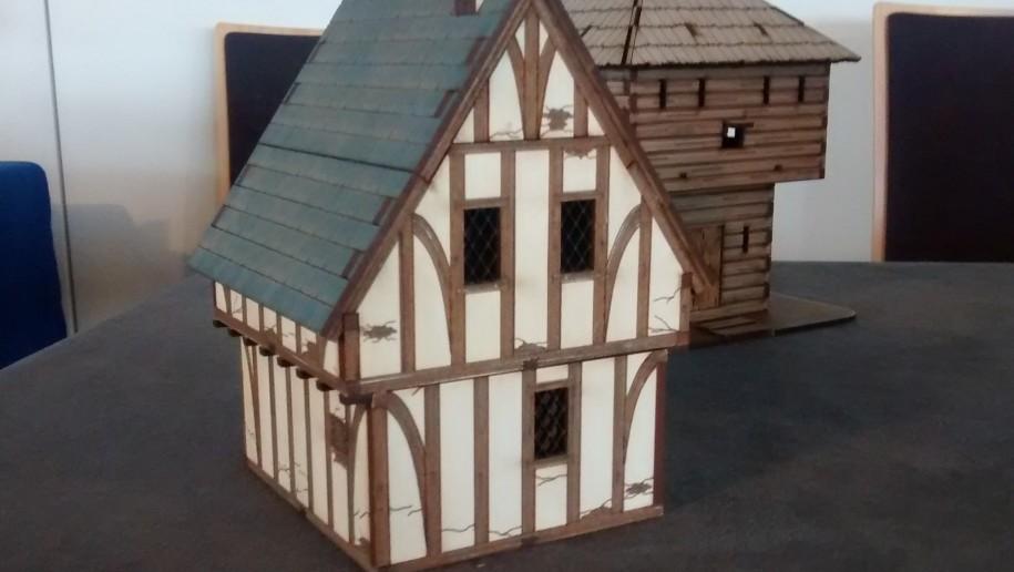 Bauernhaus vom Model Hobby Club Du Sud