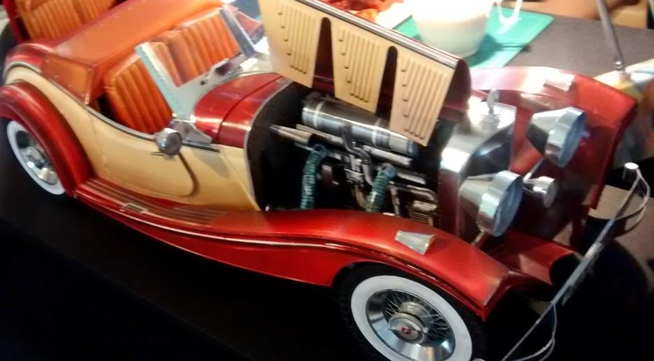 Papiermodell / Kartonmodell eines Mercedes 500K