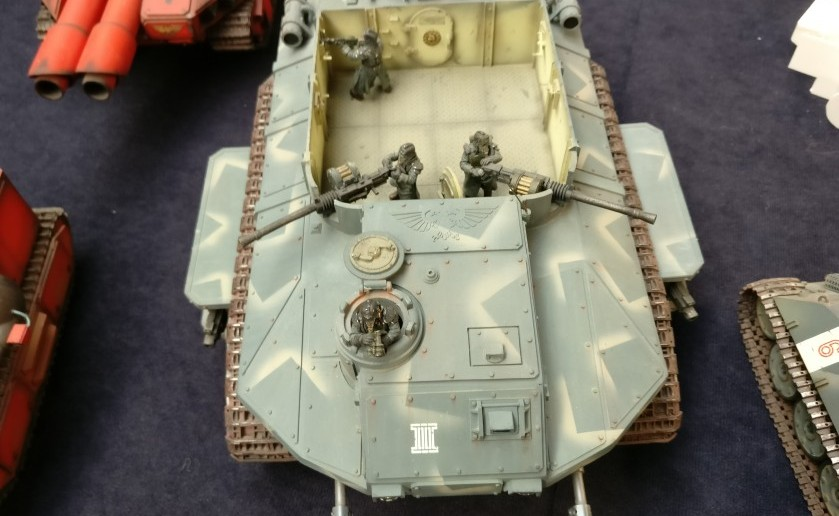Peter Pickenhahn: Warhammer-Tanks