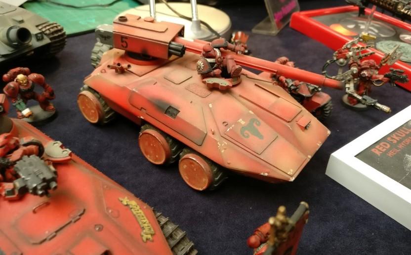 Peter Pickenhahn: Warhammer-Tanks