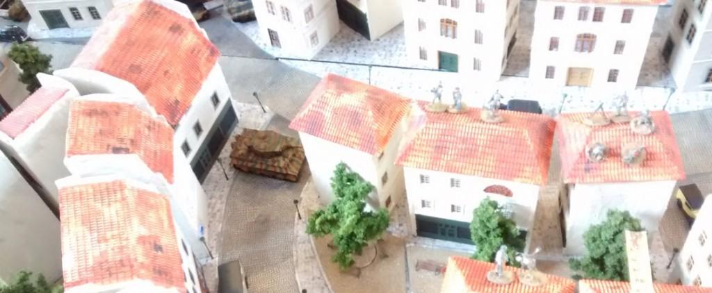 Wer seine Panzer ohne infanteristische Begleitung in die Stadt entsandte, der musste bald derbe Verluste einstecken. Bei drei Tigern zählt halt jeder einzelne...