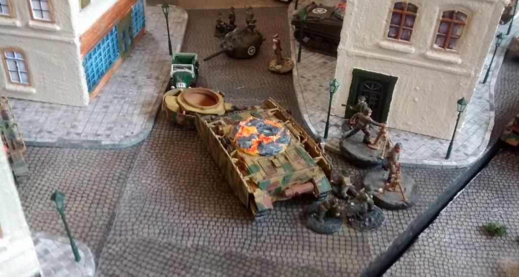 Kürzeste Kampfentfernungen machten den Schutz der Kampfpanzer durch Infanterie zum Must-Have.