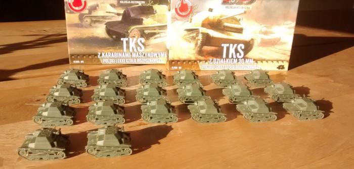 Die polnische Tankette TKS von First to Fight ging dem Sturmi ins Netz: Fette Beute auf der Mainzer Messe