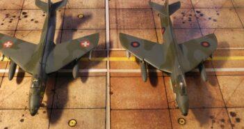 Miss Jet: Hawker Hunter im Modell von Airfix, Revell und Xtrakit