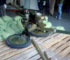 Zudem war die 47mm Pak Böhler auf ihrer Lafette absolut standfest.