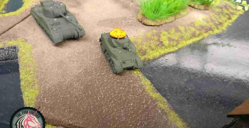 Die briten greifen an. Mit den beiden deutschen Halbketten will man gewiss fertig werden. ( Behind Omaha. Forum / Spielbericht )
