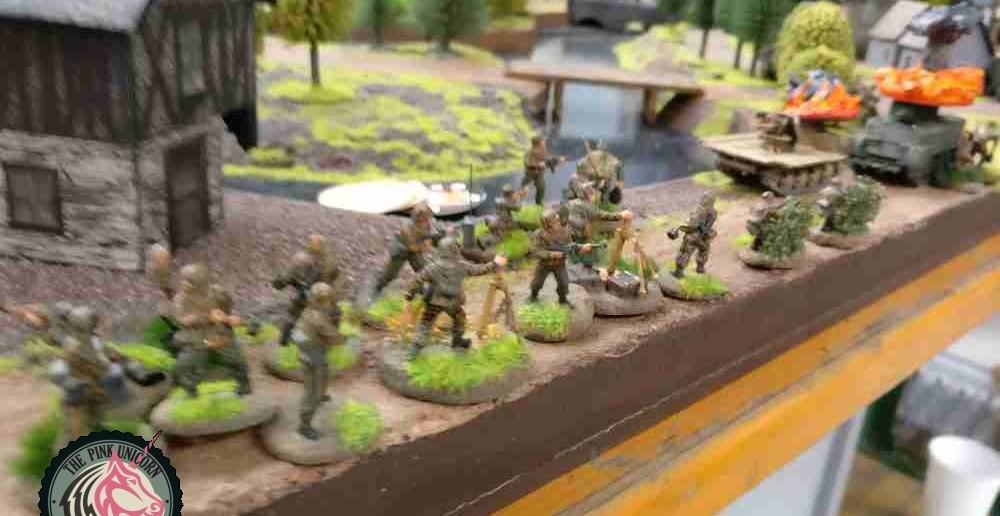 Der Vormarsch der Grenadiere geht weiter.  ( Behind Omaha. Forum / Spielbericht )