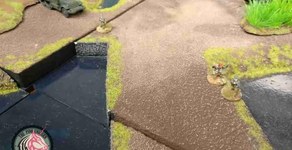 Die britischen Fallschirmtruppen schmelzen zusammen. ( Behind Omaha. Forum / Spielbericht )