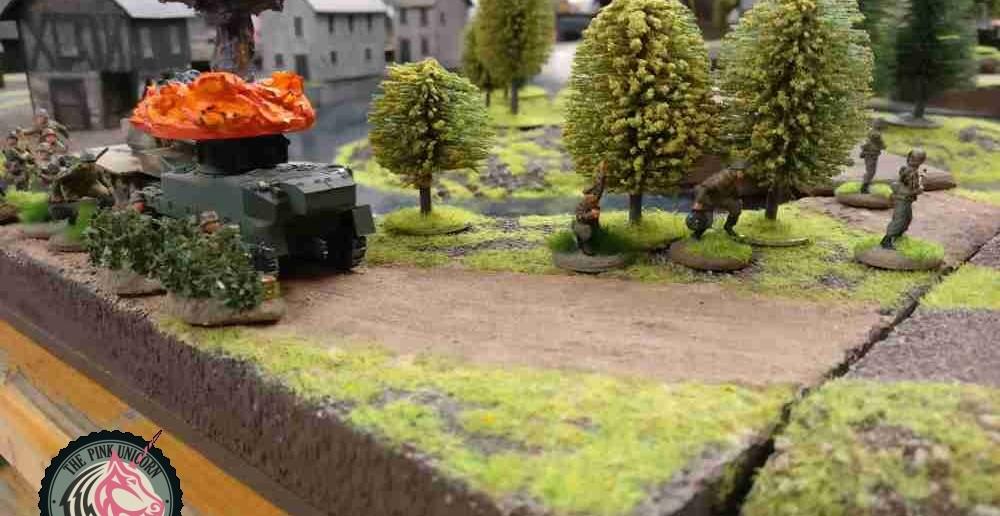 Weitere Grenadiere folgen. ( Behind Omaha. Forum / Spielbericht )