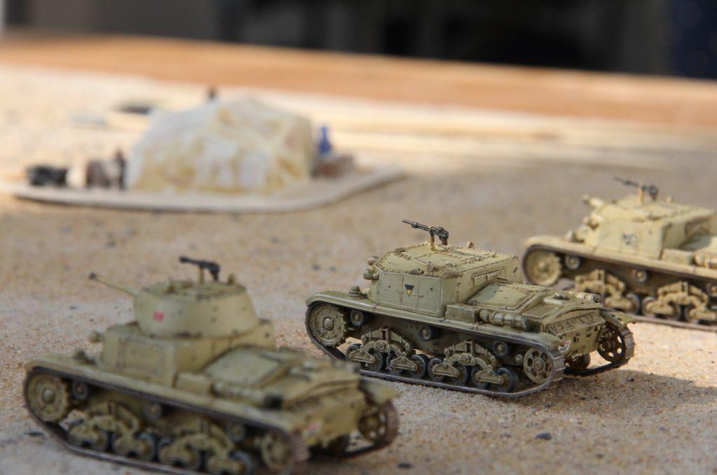 """Behind Omaha Spieltisch #1: """"Operation Sonnenblume, Afrika 1941"""""""