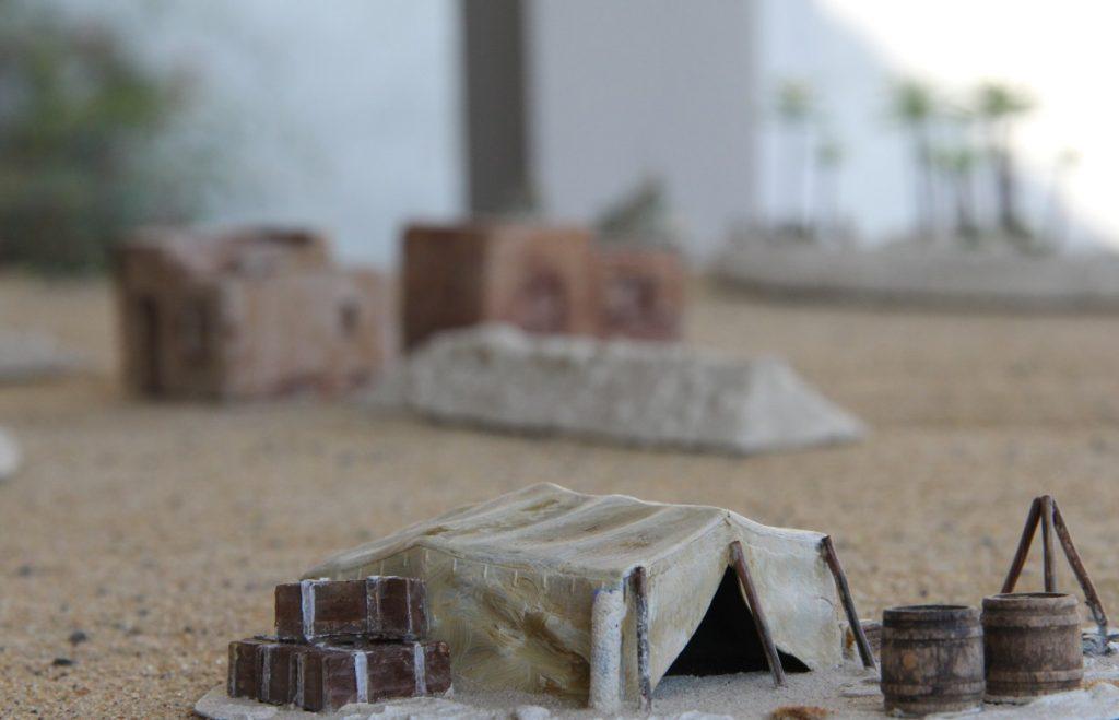 """Behind Omaha Spieltisch """"El Alamein, 1. Schlacht, Afrika 1942"""""""