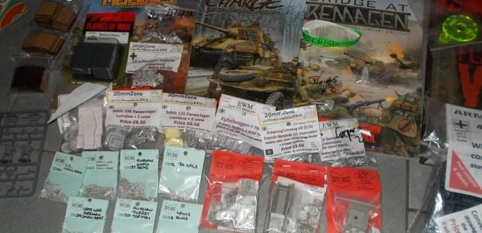 Nicht nur aber vor allem bei Sgt's Mess, EWM Early War Miniatures, Shell Hole Scenics Miniatures und bei SHQ Miniatures hat sich Frank gütlich getan. (#FrankM)