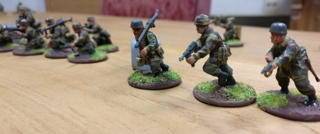 Immer recht stürmisch, die Truppen bei Botlt Action.