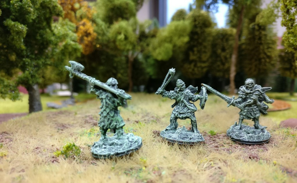 Schwertkämpfer, Pikenträger des Heer der Toten.