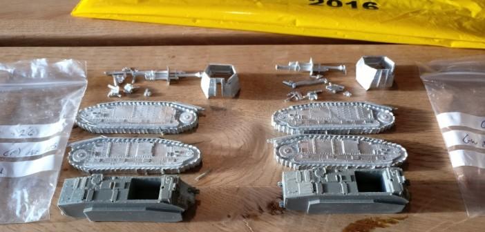 Aus der Serie vonShell Hole Scenics Miniatures: 105 mm leFH 18/3 auf Gw B-1/B-2 740(f).