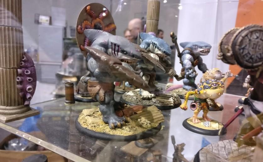 Figurinen und Zubehör von TGCM Creations.