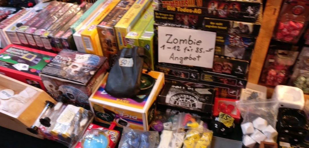 """Auch Zombies sind im Sonderangebot. Welcher Magier kann da """"Nein"""" sagen?"""