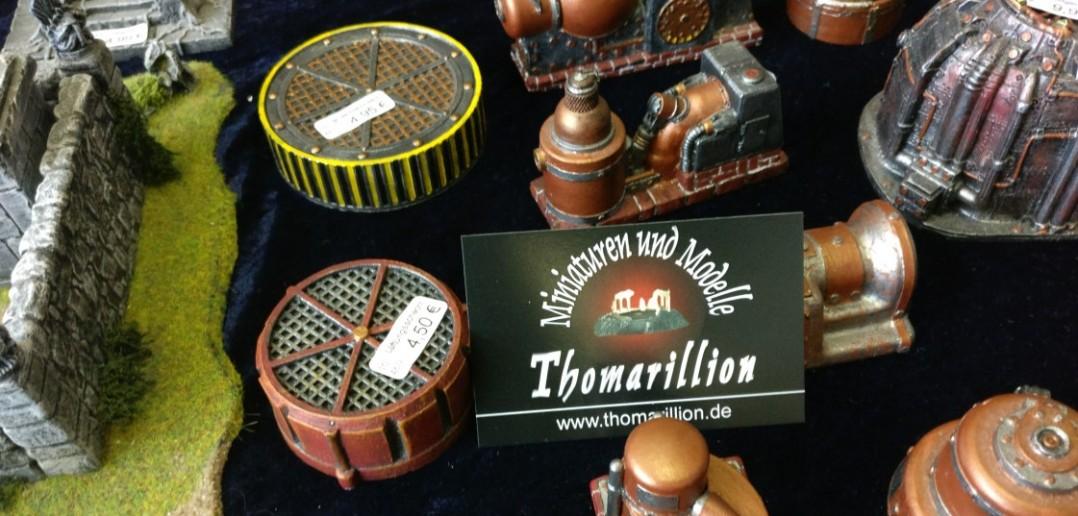 Bei Thomarillion gibt es wieder viele Accessoires für das Spielfeld für Guild Ball, Freebooters Fate, Blood Bowl und SAGA.