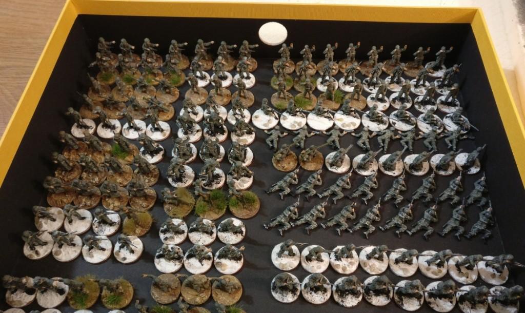 Das gesamte 271st Infantry Regiment der 69th Infantry Division.