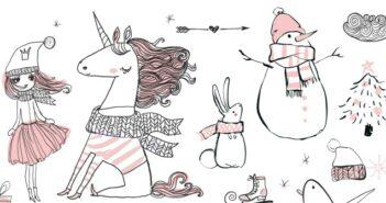 Pink Unicorn Geschenke zu Weihnachten
