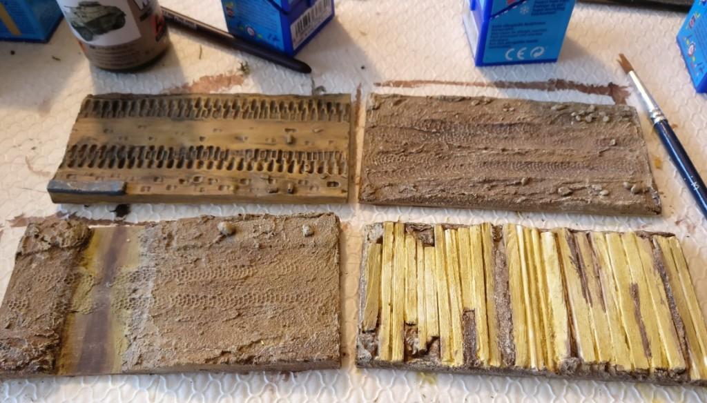 Hier die Resultate im Überblick. Intensivere Arbeit erfordern noch die Bachfurt und die Holzbalken des Knüppeldamms.