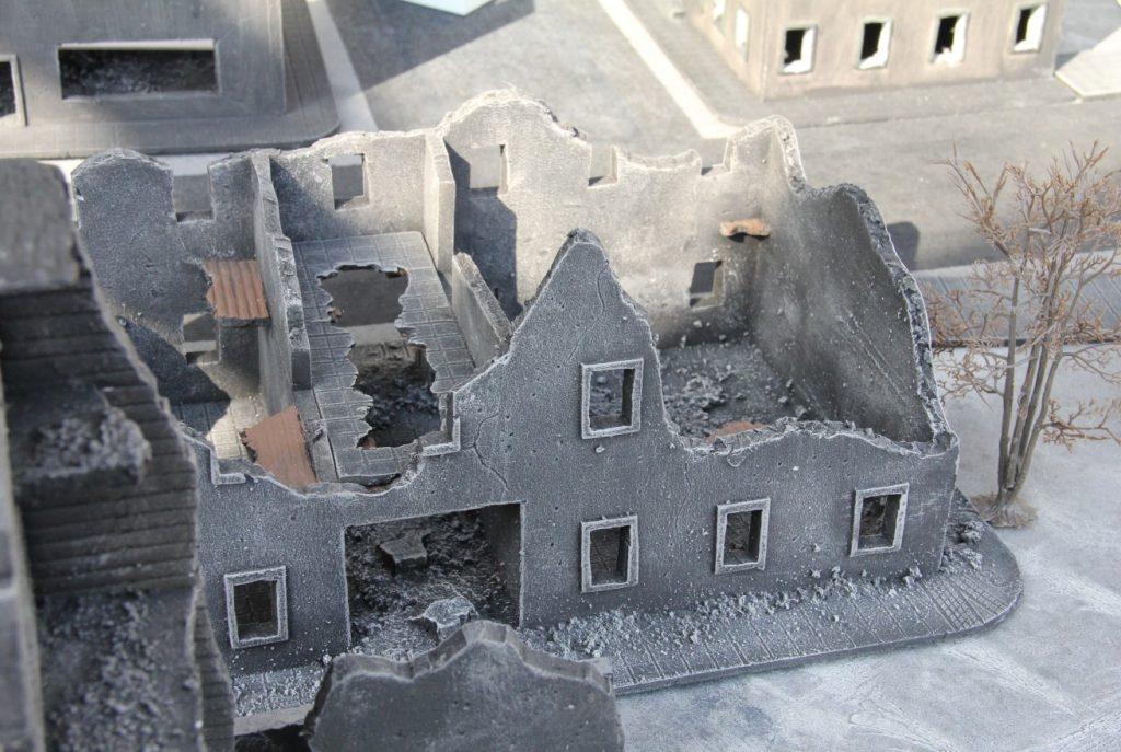 """Foto vom Behind Omaha Spieltisch """"Berlin 1945"""""""