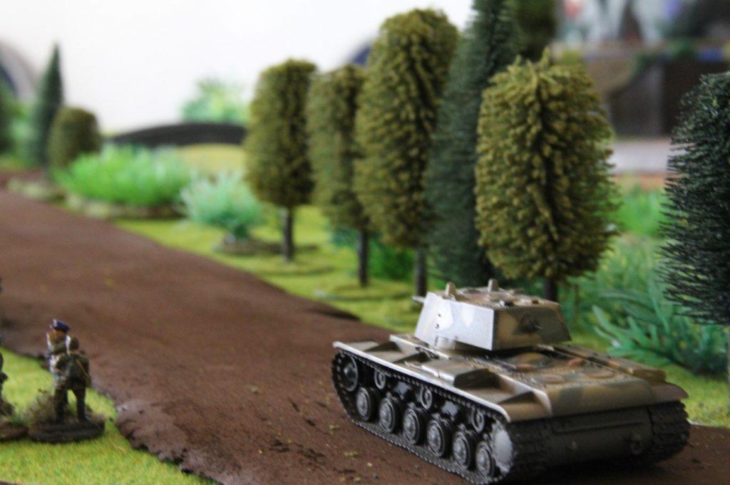 """Fotos zum Behind Omaha Spieltisch #11: """"Kesselschlacht von Bialystok und Minsk, Unternehmen Barbarossa 1941"""""""
