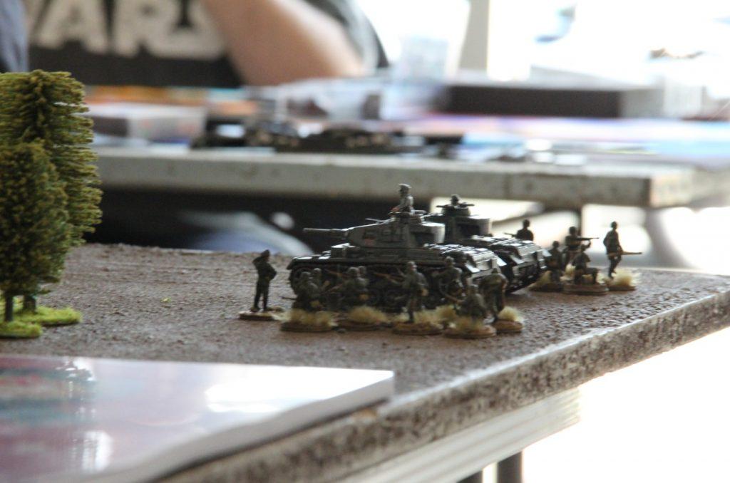 """Foto: Behind Omaha Spieltisch #12: """"Schlacht um Boulogne, 1940"""""""