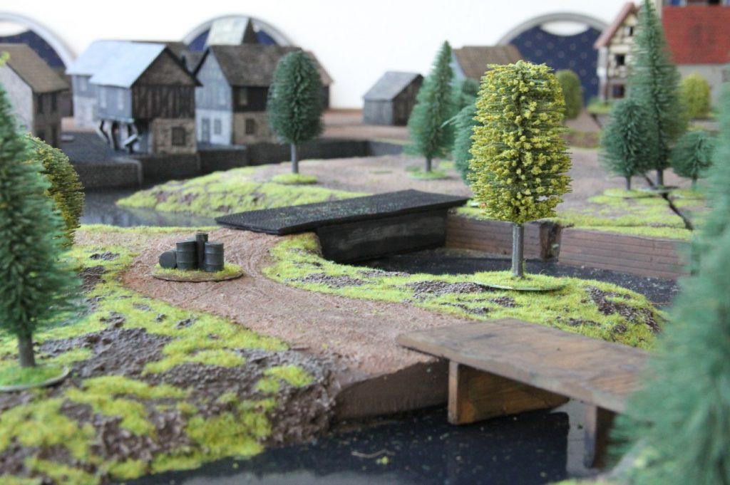 """Foto: Behind Omaha Spieltisch #13: """"Schlacht an der Schelde, 1944"""""""