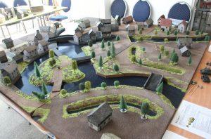 """Behind Omaha Spieltisch #13: """"Schlacht an der Schelde, 1944"""" in der Totalen"""