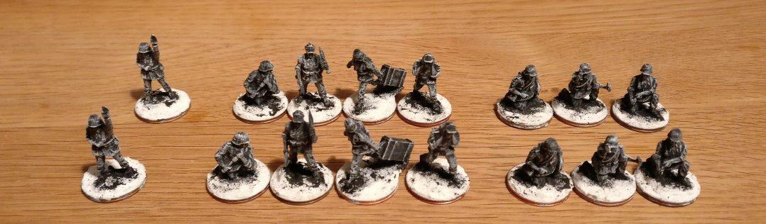 Deutsche Panzergrenadiere für den Wintereinsatz. Können auch gleich mit benalt werden.