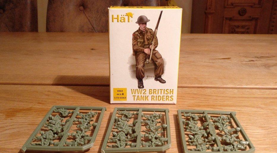 HaT Set 8264 WW2 British Tank Riders