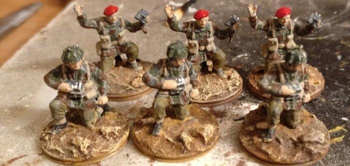 Sprint für die 1st Airborne Division