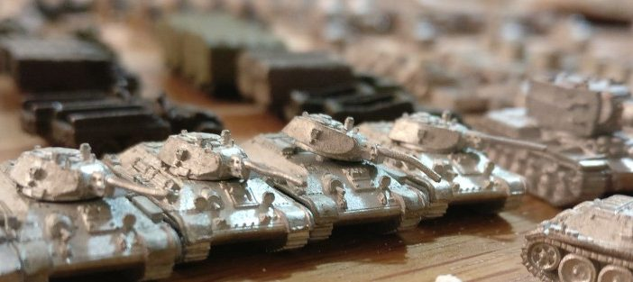 Big Haul bei ebay: GHQ- Models Micro Armour: russische Tanks