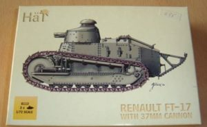 HaT 8113 Renault FT-17 with 37mm Cannon