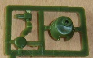 Der Geschützturm der Version mit der 37-mm-Puteaux-Kanone (Haet 8113)