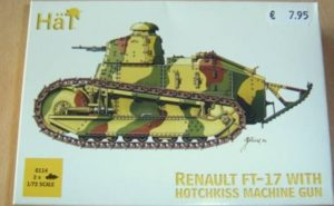 HaT 8114 Renault FT-17 with Hotchkiss Machine Gun