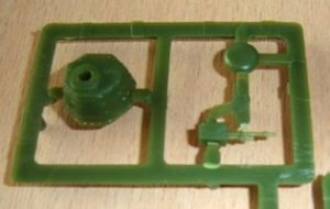 Der Geschützturm der Version mit dem 8-mm-Hotchkiss-MG (Haet 8114)