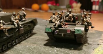 Britische Tank Riders: wehmütiger Abschied...