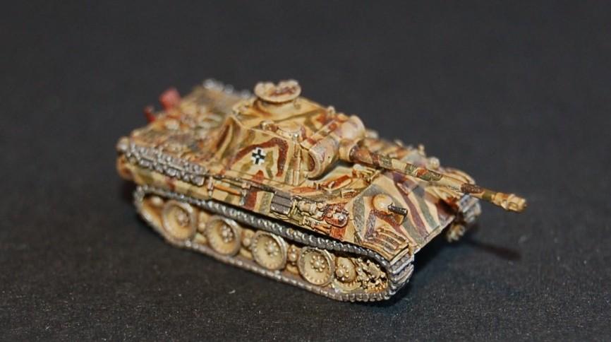 Hier der Panzer V Panther von max nochmal in Großaufnahme.
