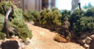 Meldefahrer des Schützen-Regiment 113 der 1. Panzerdivision