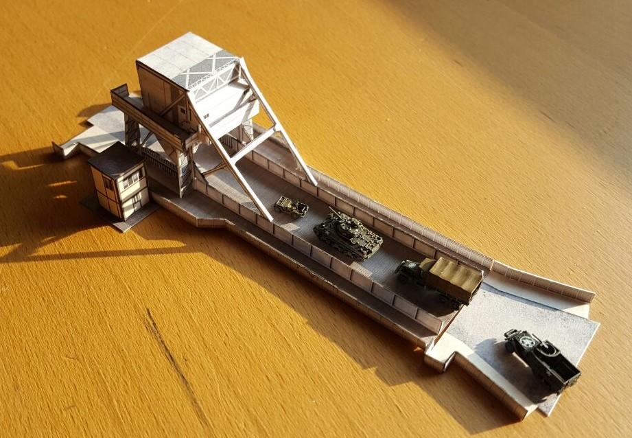 Operation Tonga: Pegasus-Bridge im Maßstab 1:285 (6mm)
