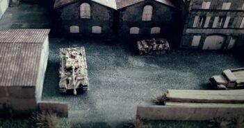 Fabrik 1944: 6mm-Diorama aus Karton