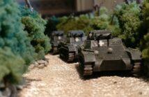 Panzer I Ausf. A von First to Fight: Plasti bestückt unsere Early War Szenarien in Warschau, Sedan und Belfort.